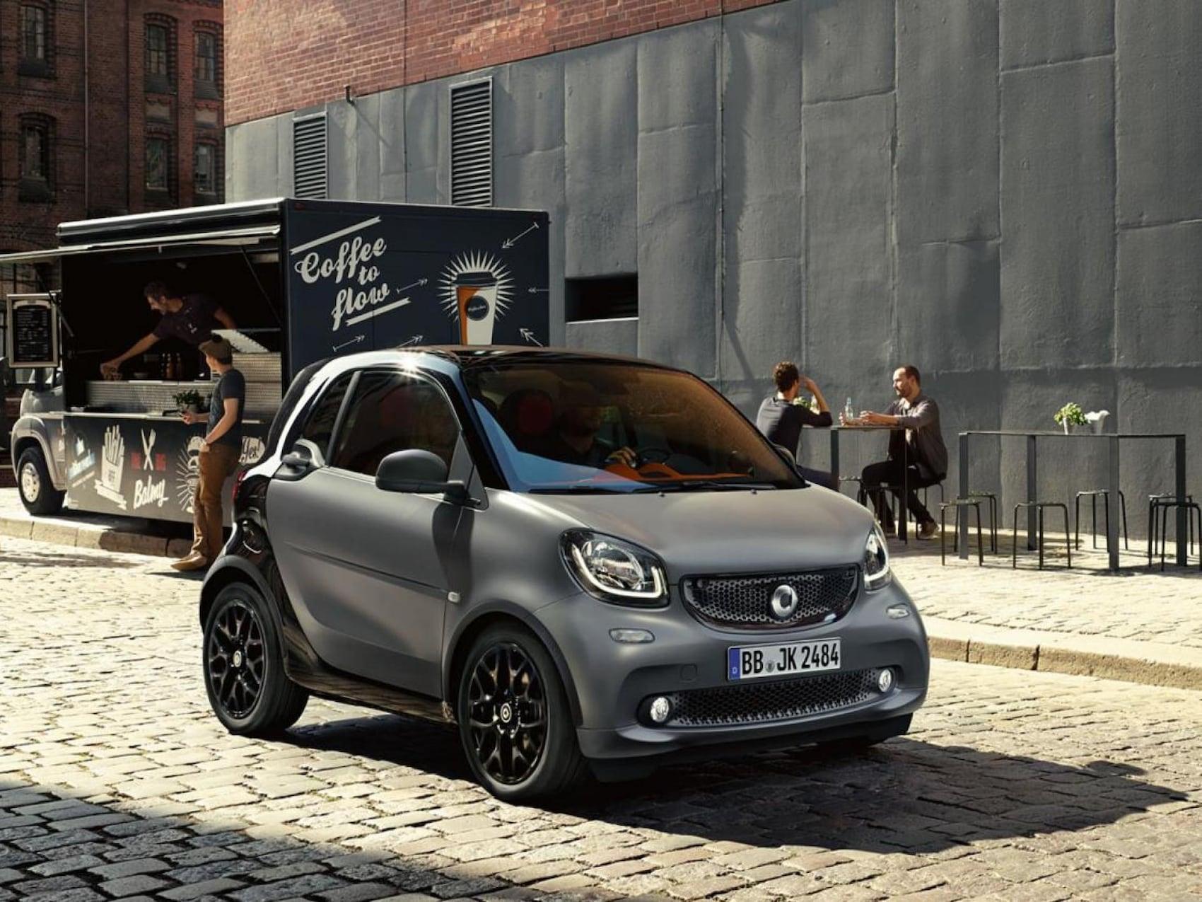 smart EQ fortwo coupé - design