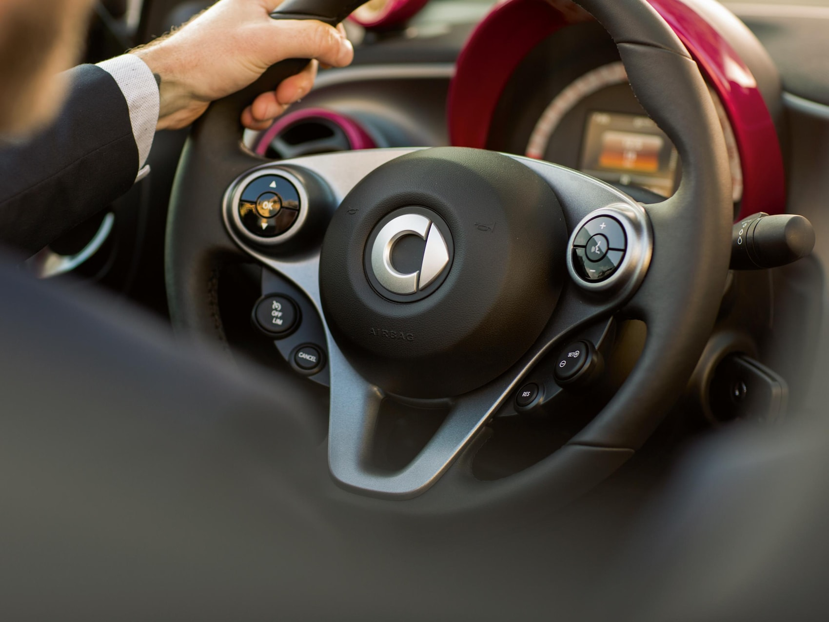Abbildung zeigt das Automatik Schaltgetriebe des 6-Gang-Dopplungsgetrieb mit twinamic der Modelle von smart.