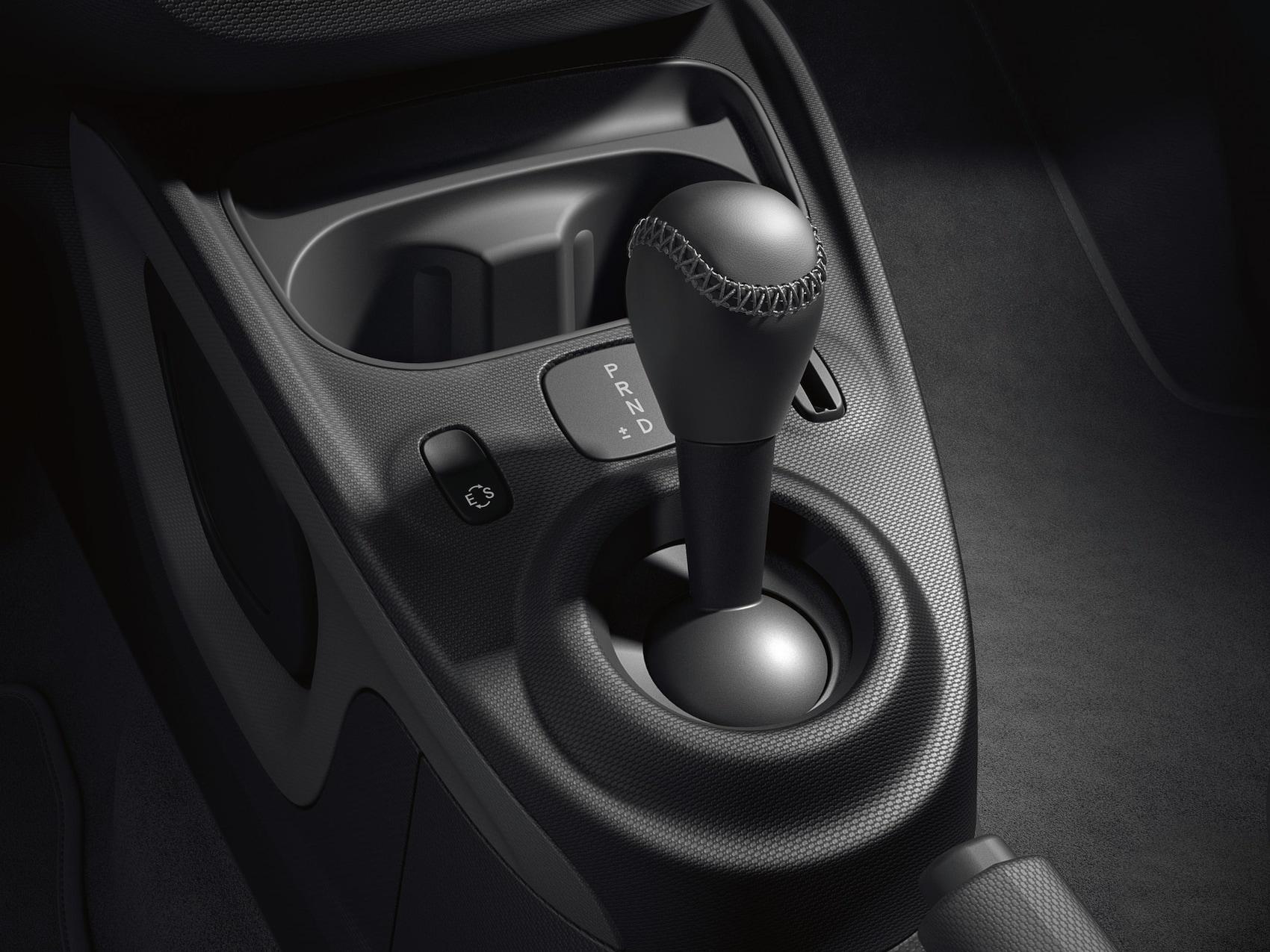 Abbildung zeigt den manuellen Modus des 6-Gang- Dopplungsgetriebe mit twinamic der Modelle von smart.