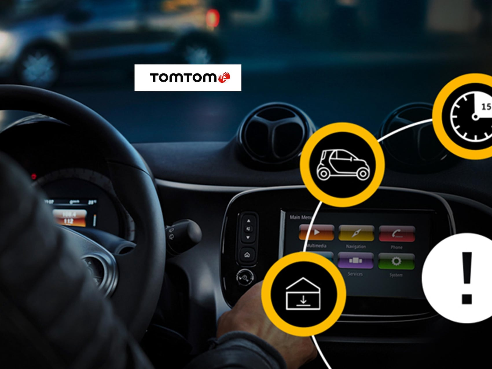 Sistema multimediale TomTom