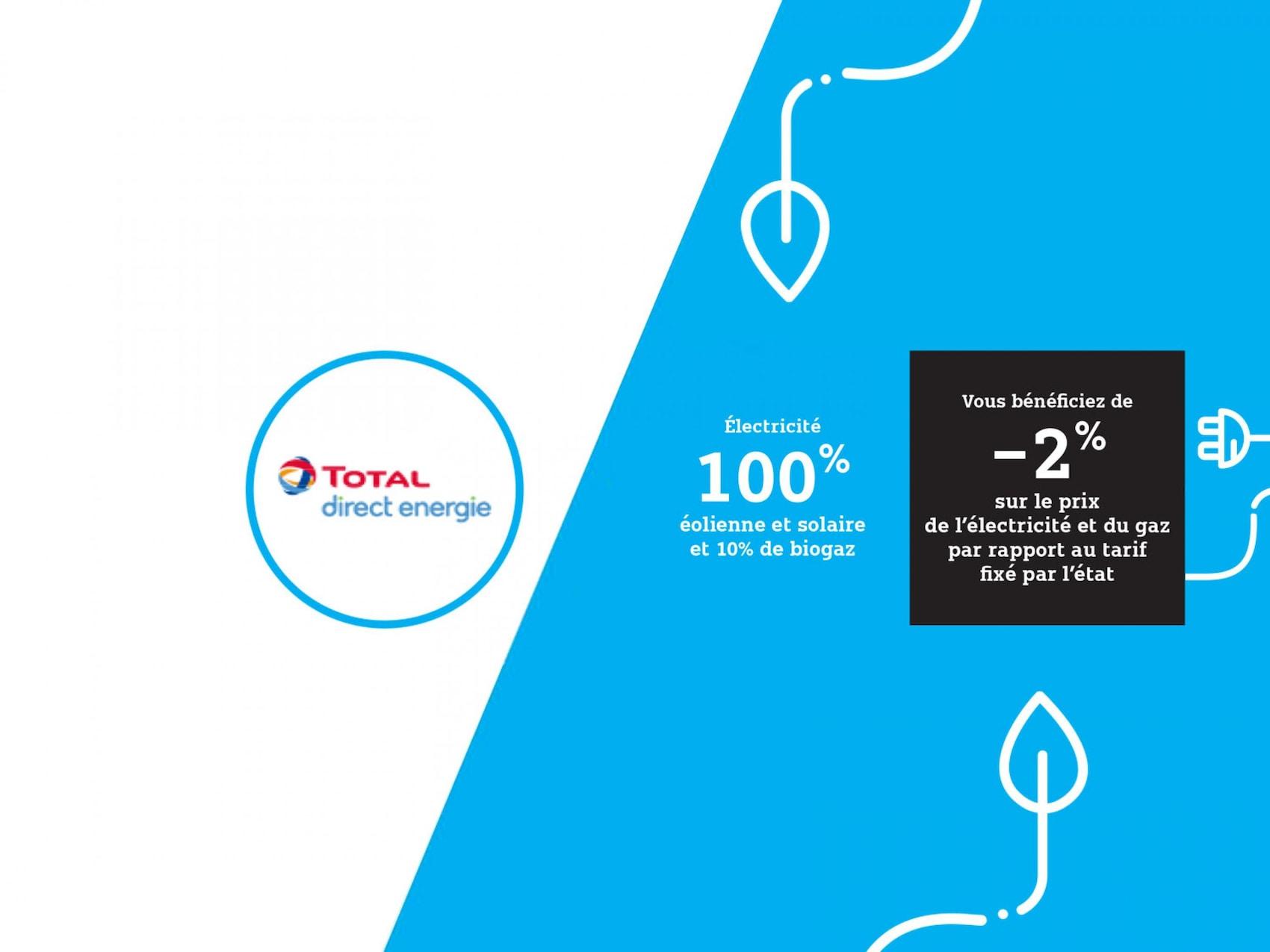 Partenaire Total Direct Energie