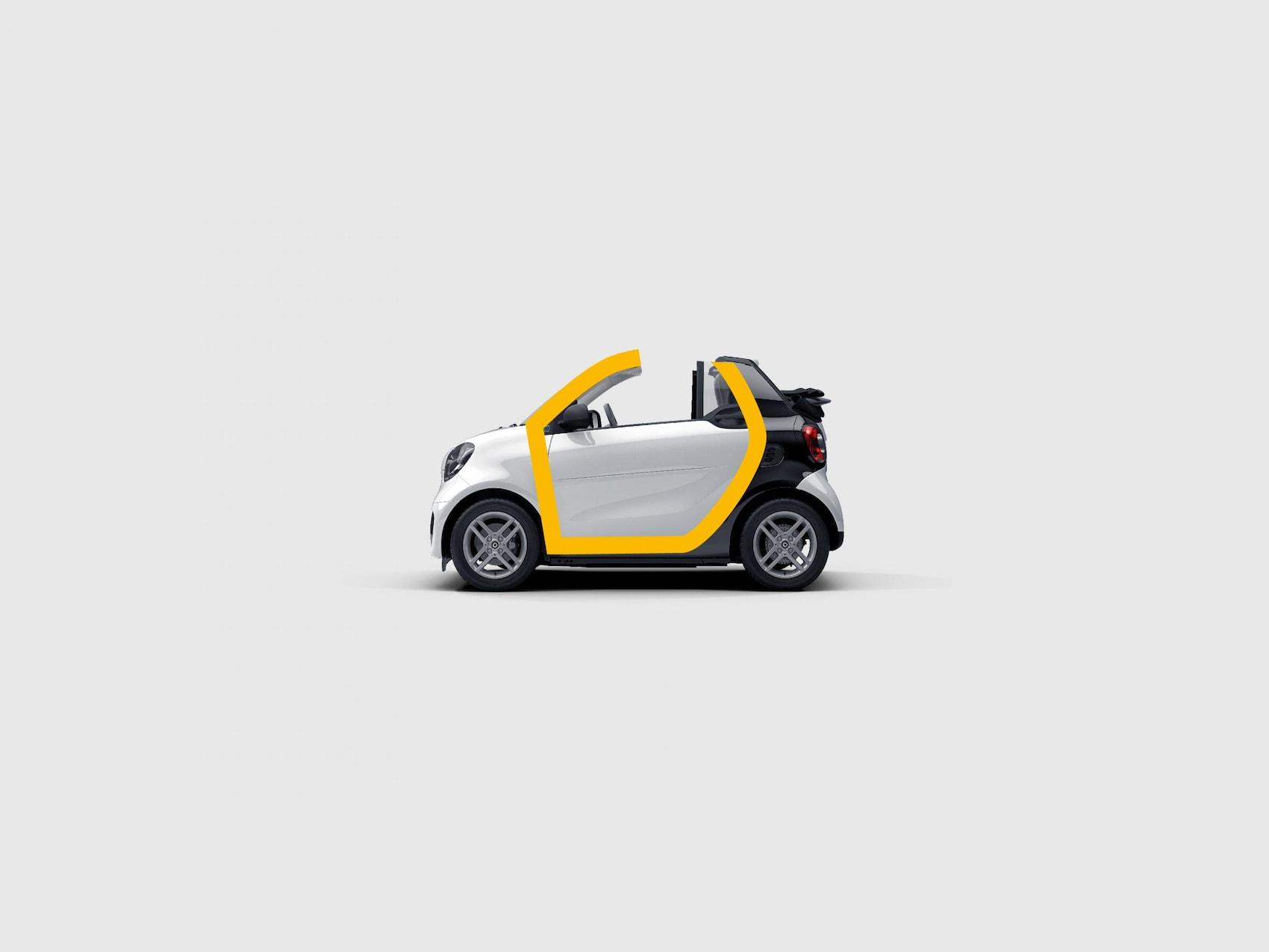 smart EQ fortwo kabriolet: tridion