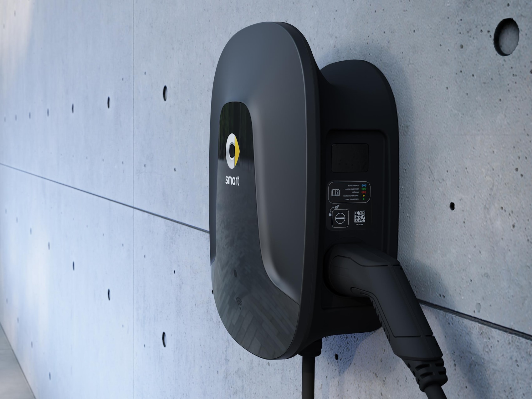 Wallbox smart na parede