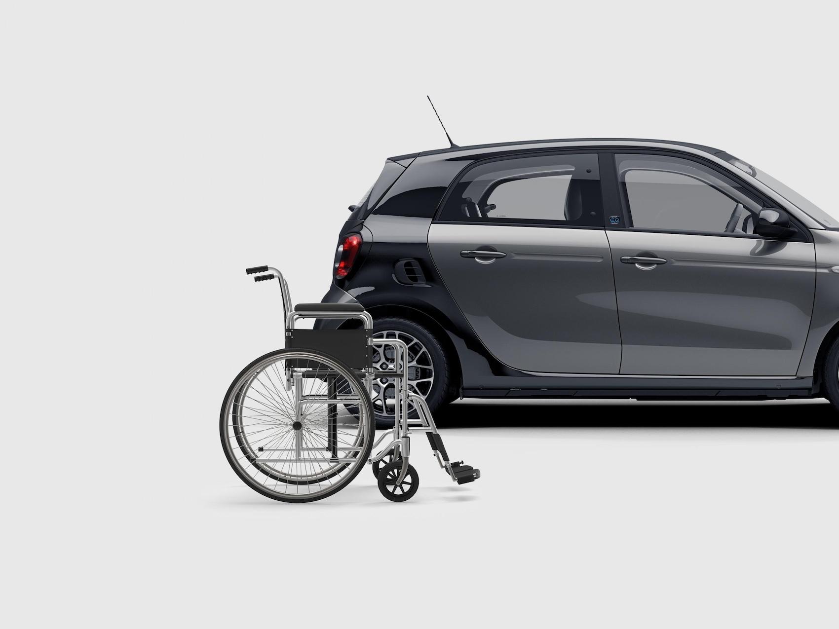 smart Fahrhilfen und Umbauten