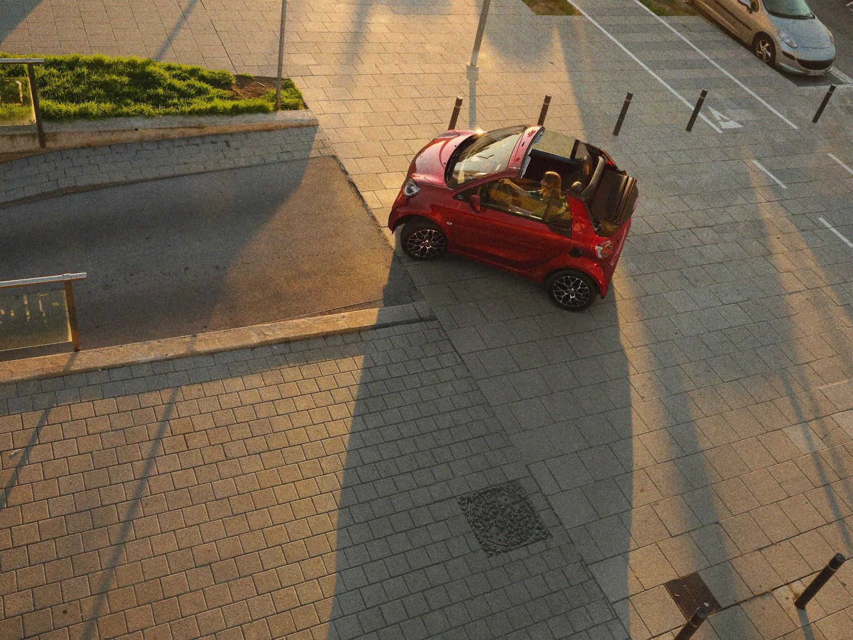 smart EQ fortwo Cabrio Wendekreis