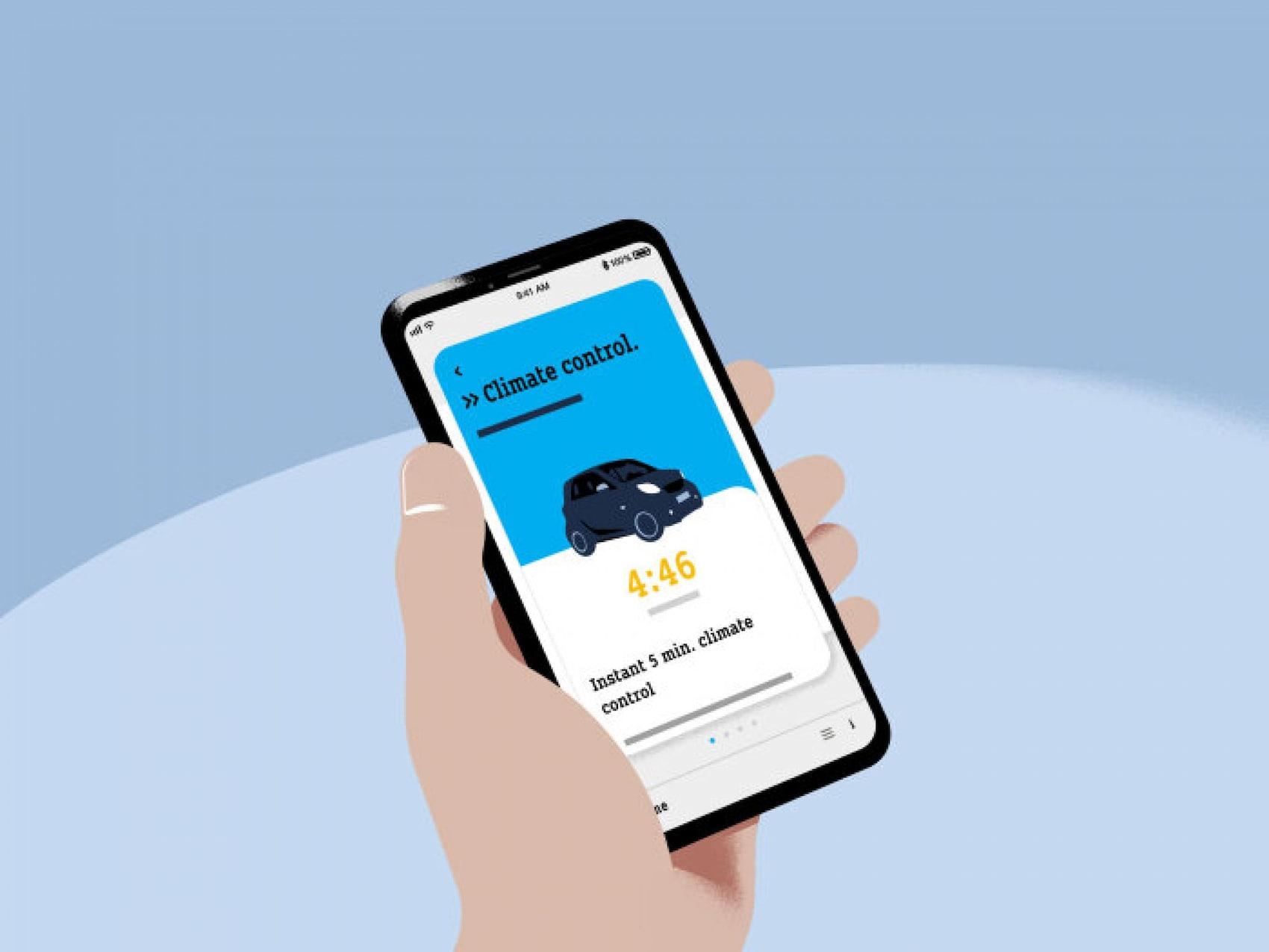 smart EQ App - Climate control