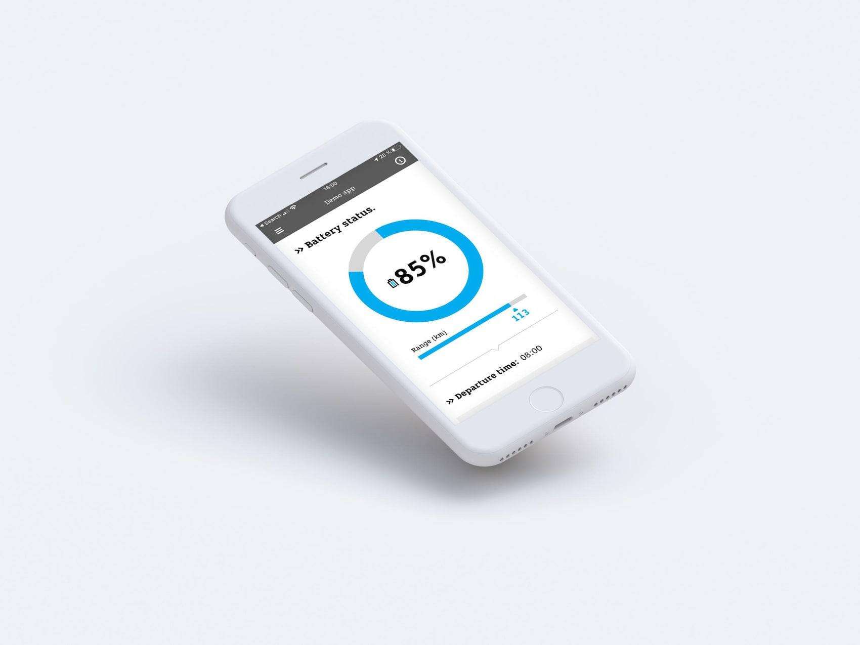 smart EQ control App Batterie Check