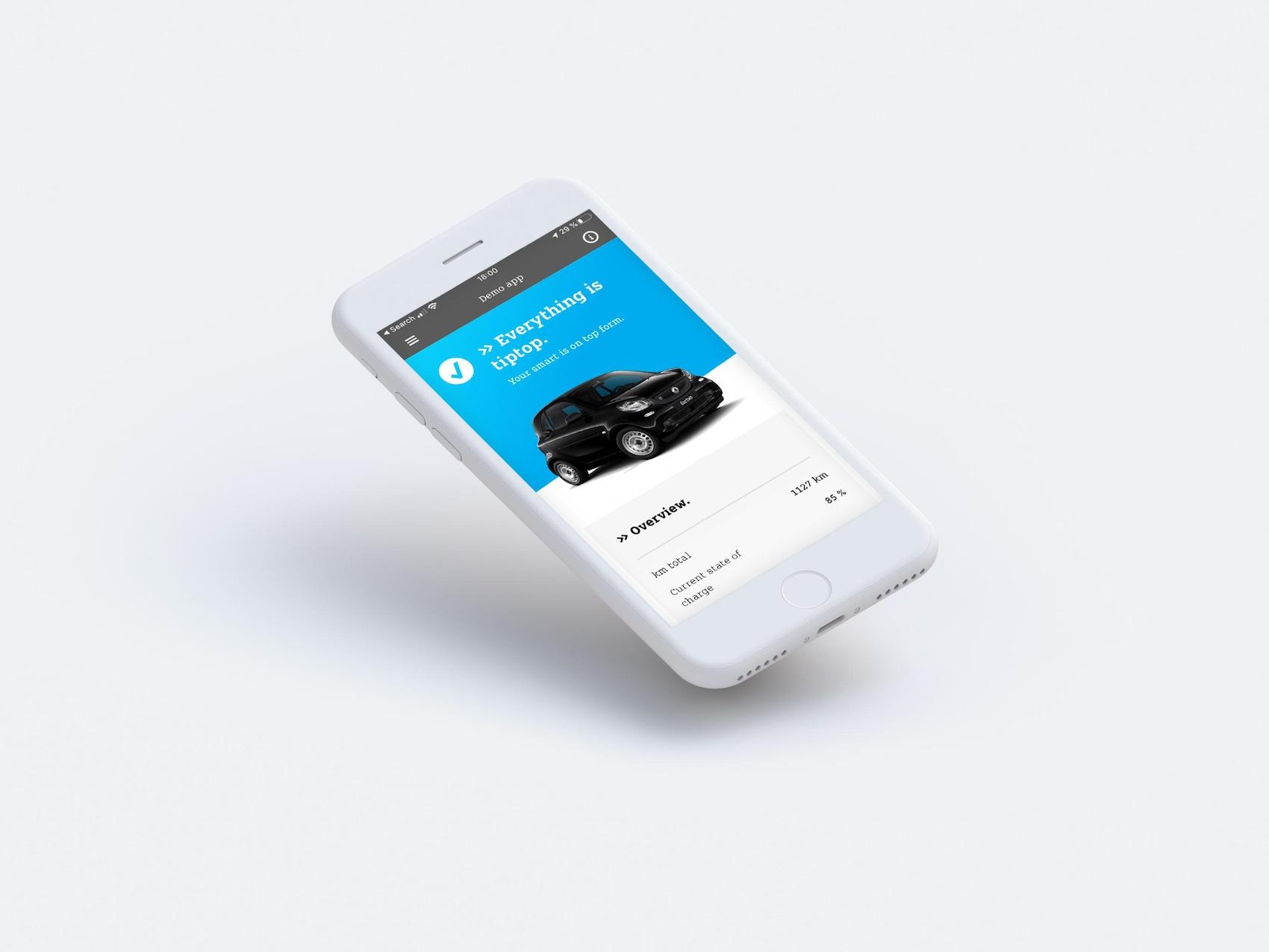 smart EQ control App personalisierte Nachrichten