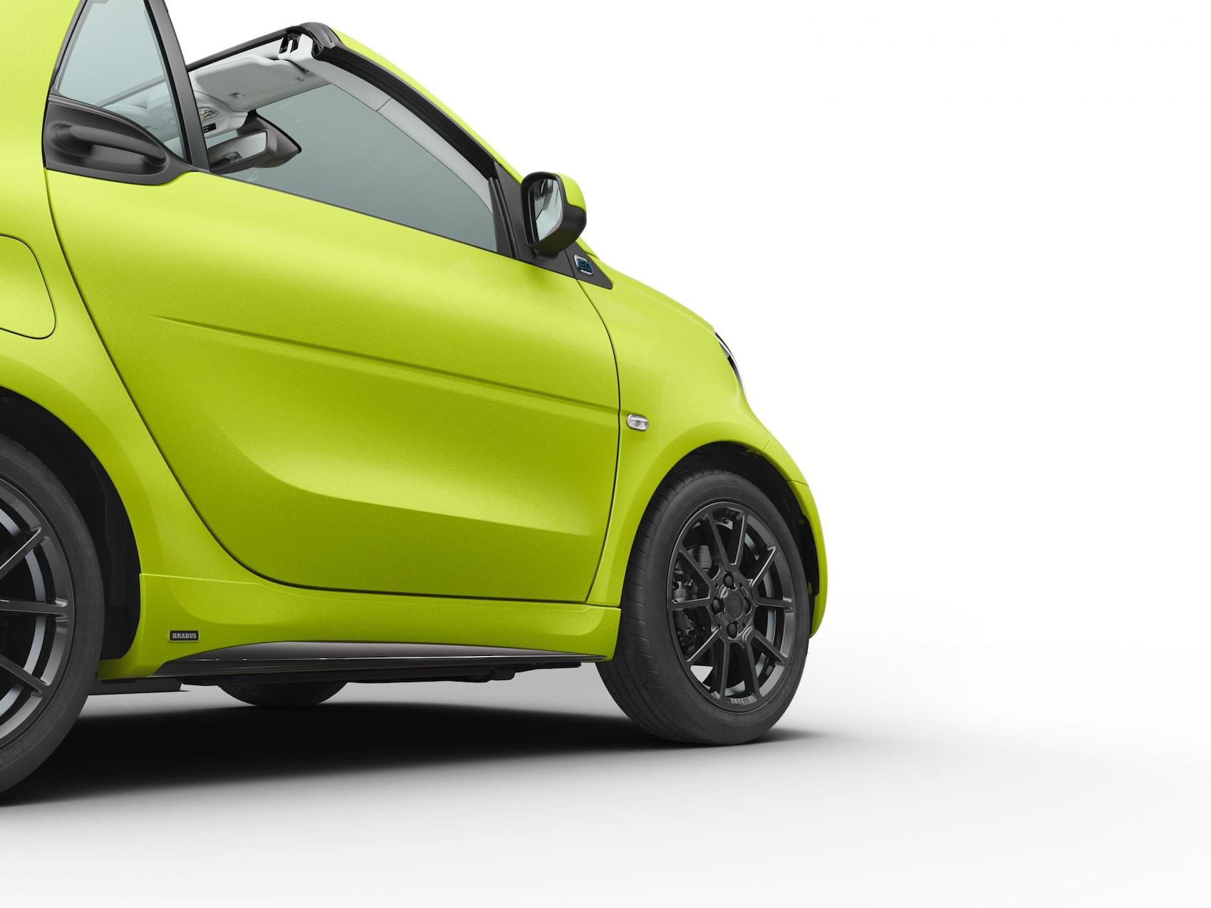 smart EQ fortwo Cabrio Tailor Made Extérieur