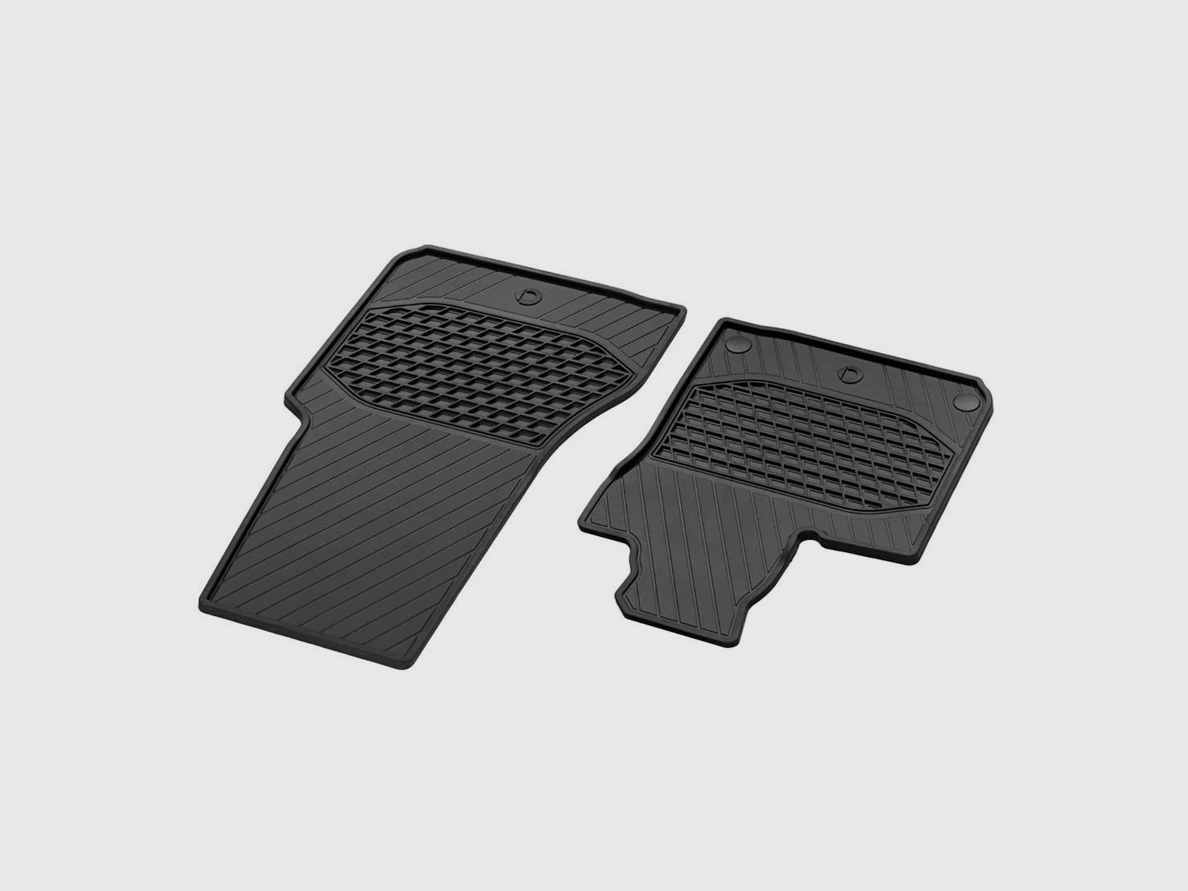 smart Allwettermatten für Fahrer und Beifahrer