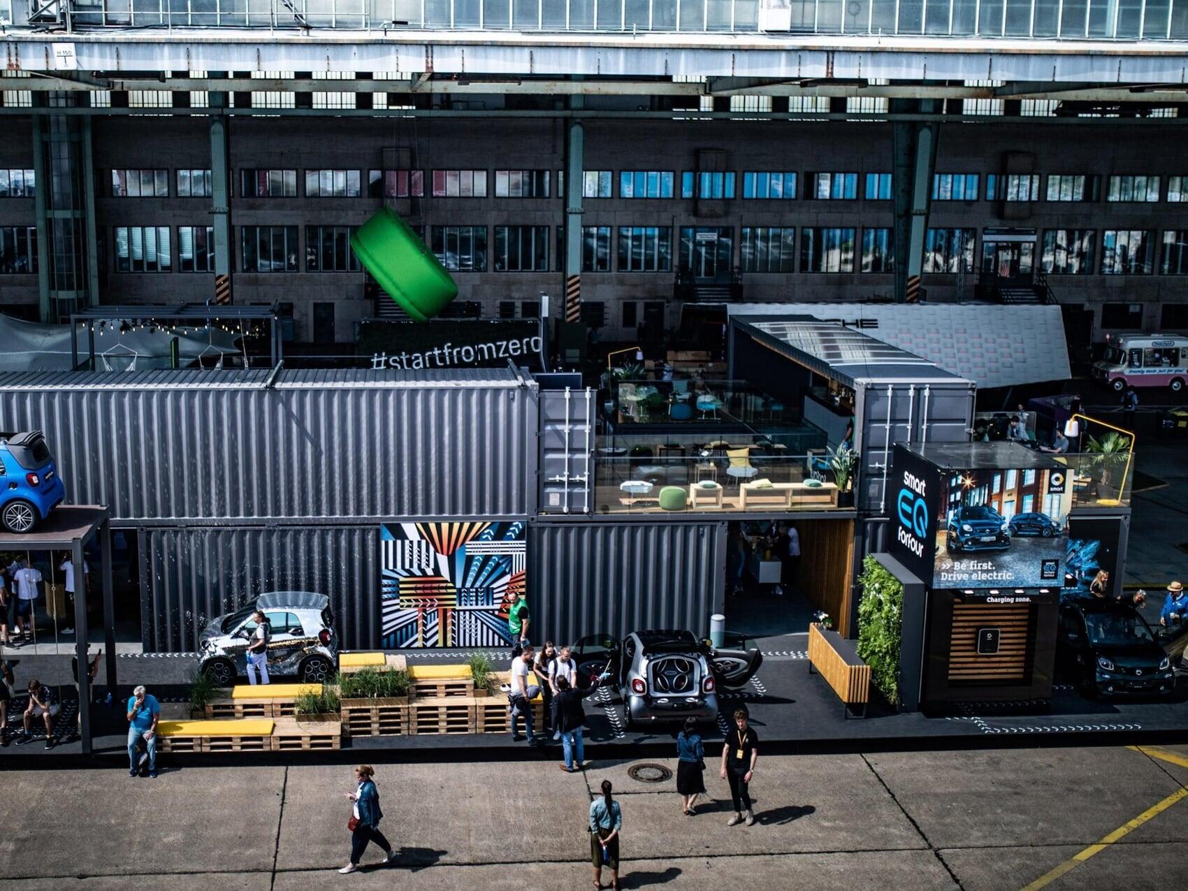 Experimentar smart - Fórmula E en Berlín