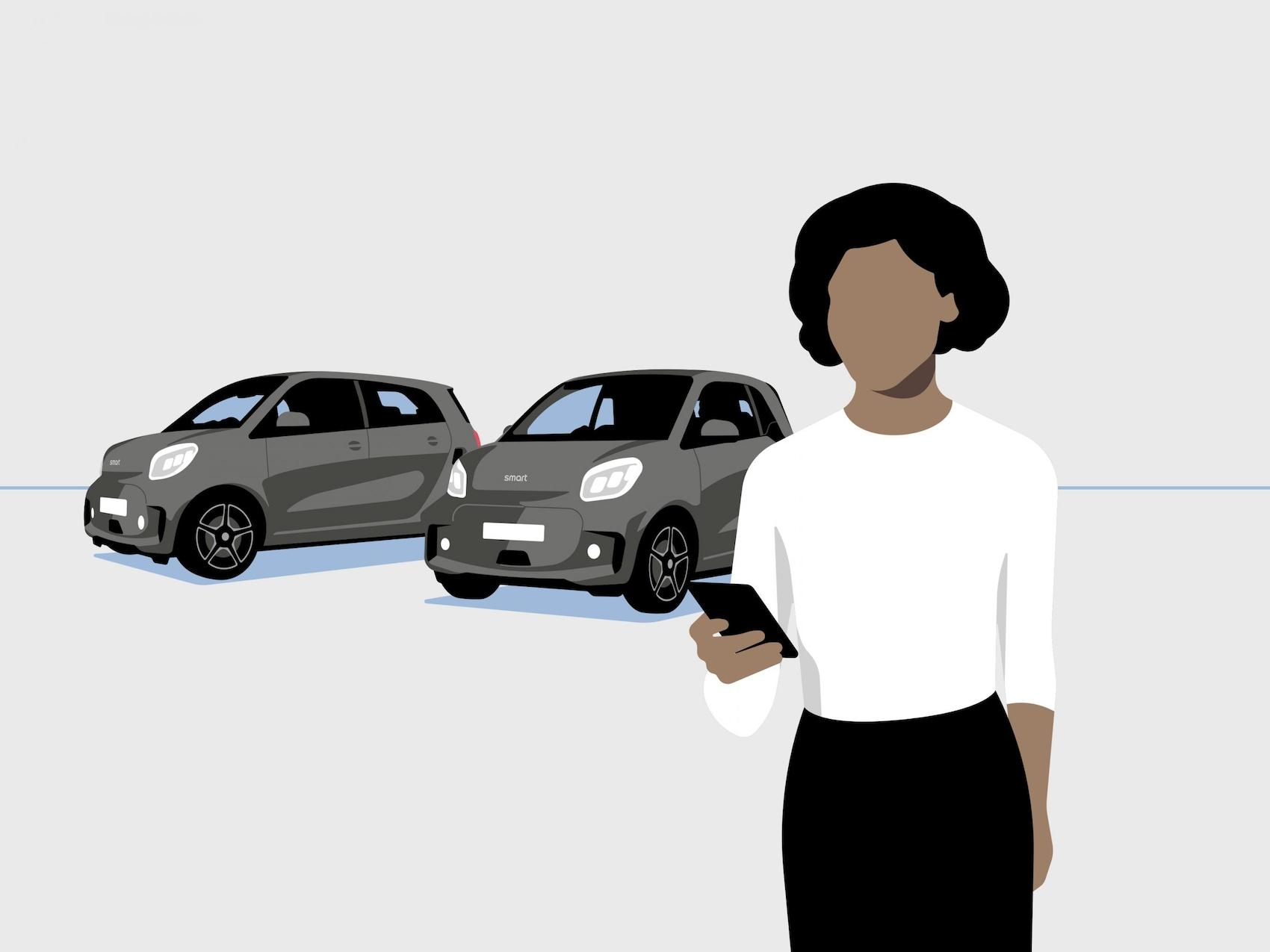 Geschäftskunden smart fleetshare LS Produkt Video image