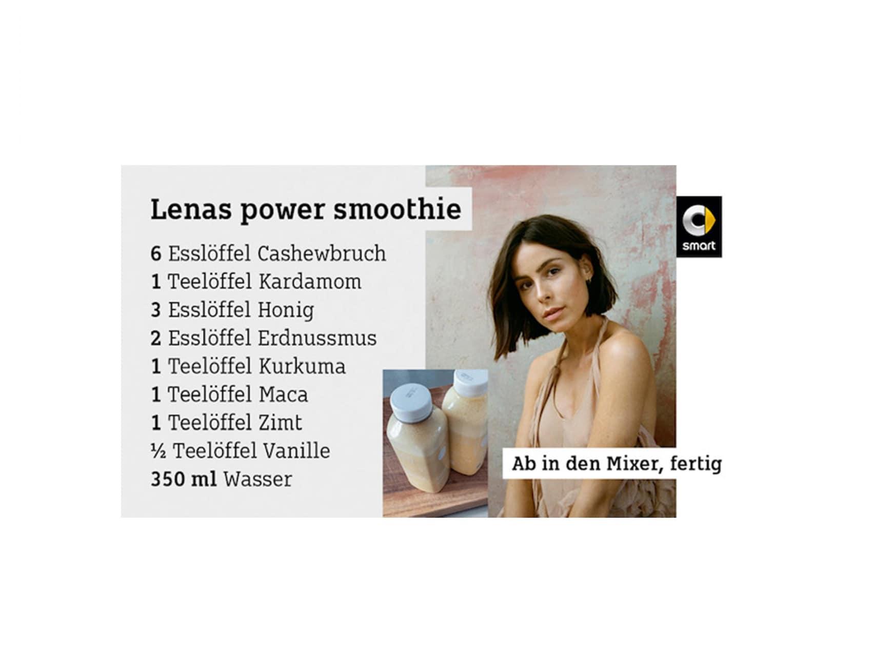Lenas Smoothie-Rezept