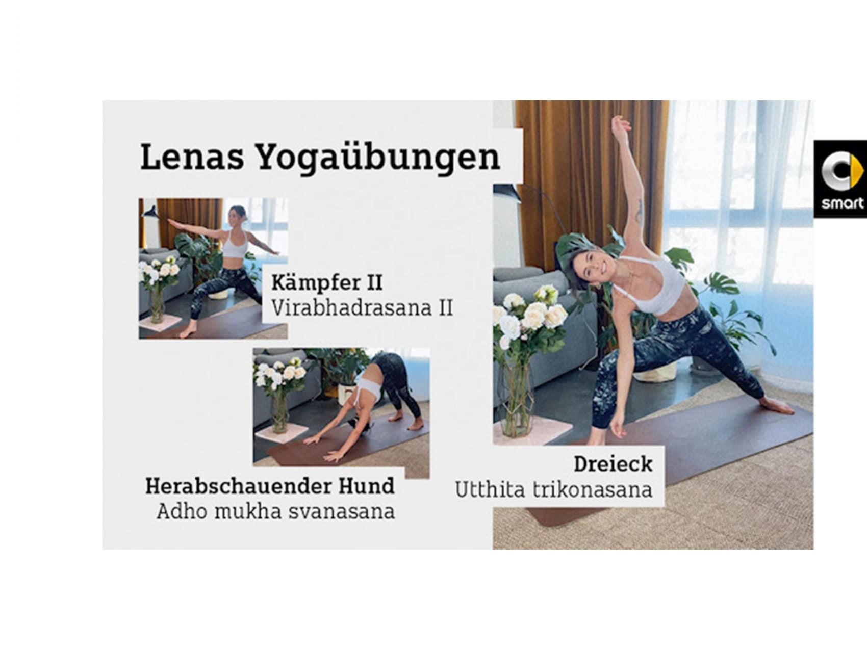 Lenas Yogauebungen