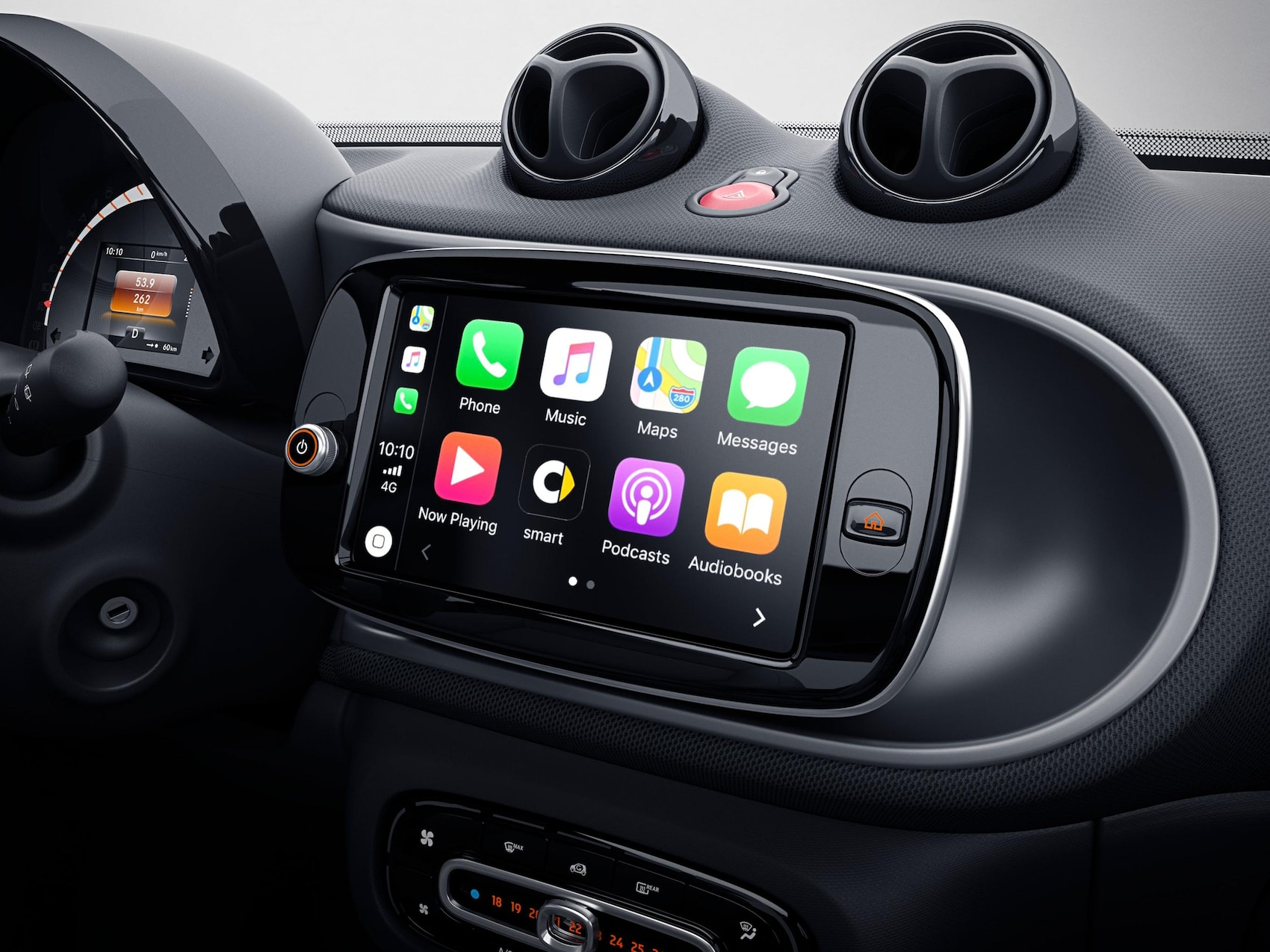 Media system smart EQ fortwo facelift