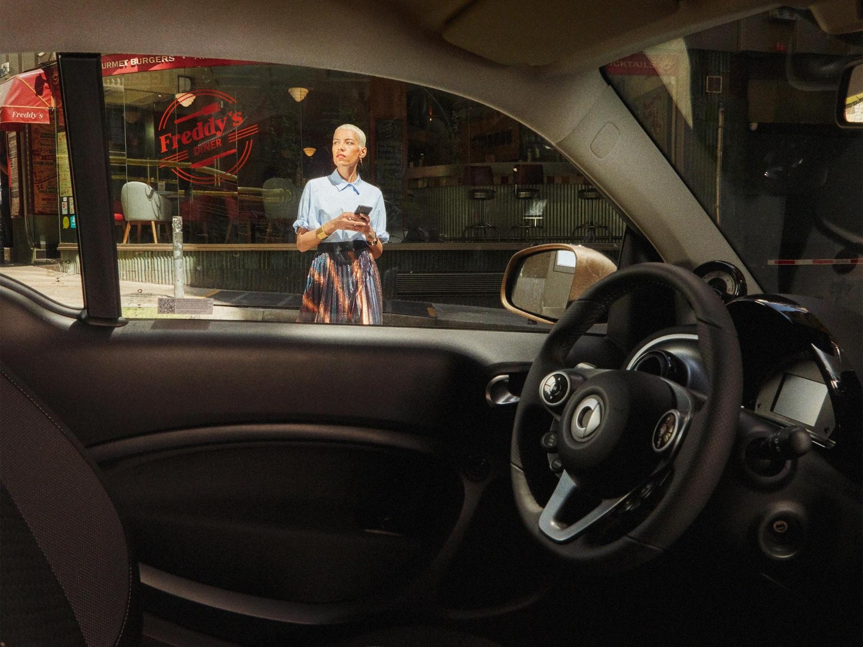 Geschäftskunden smart fleetshare LS Buchungsprozess