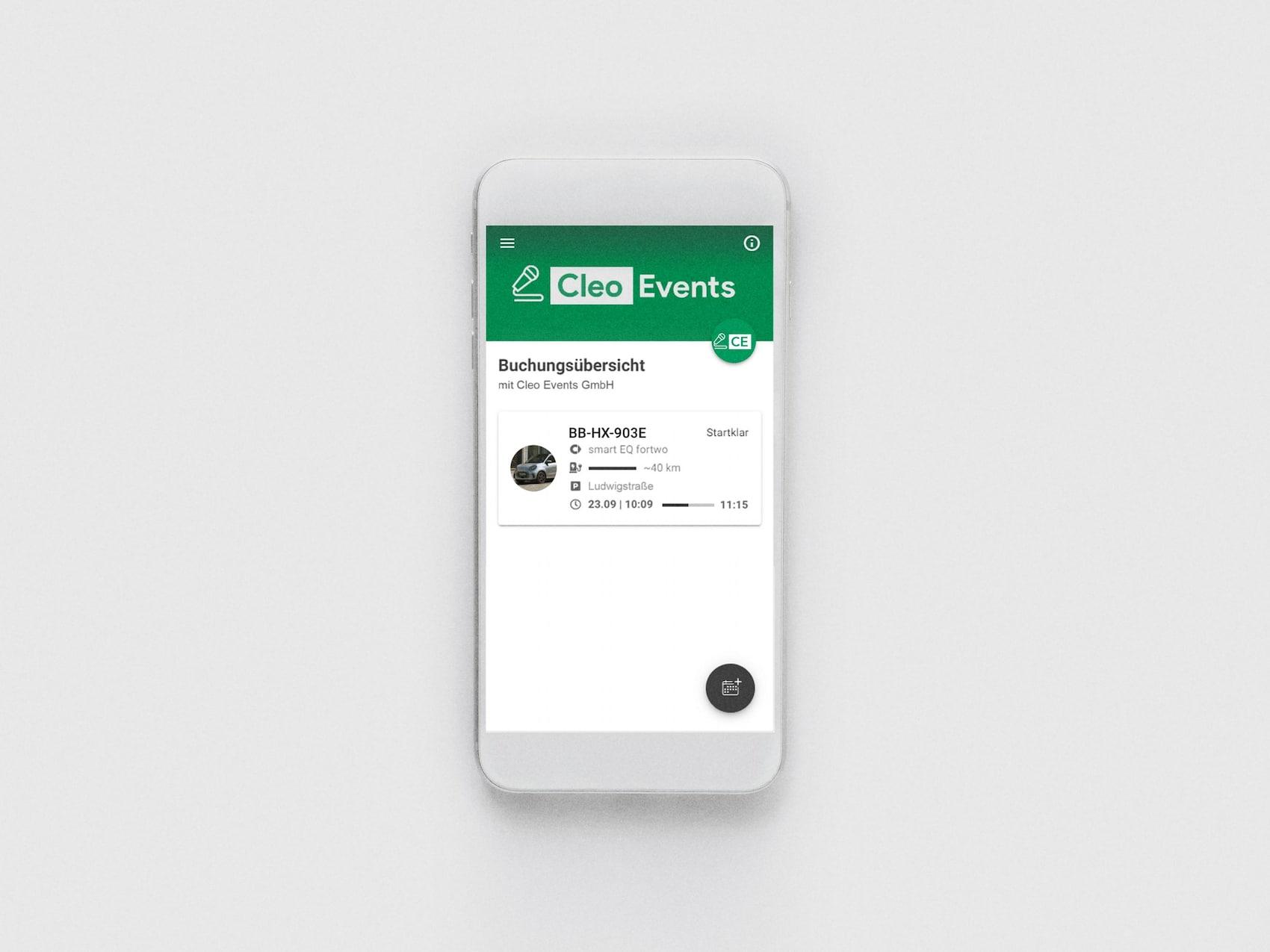 fleetshare by smart - Web App