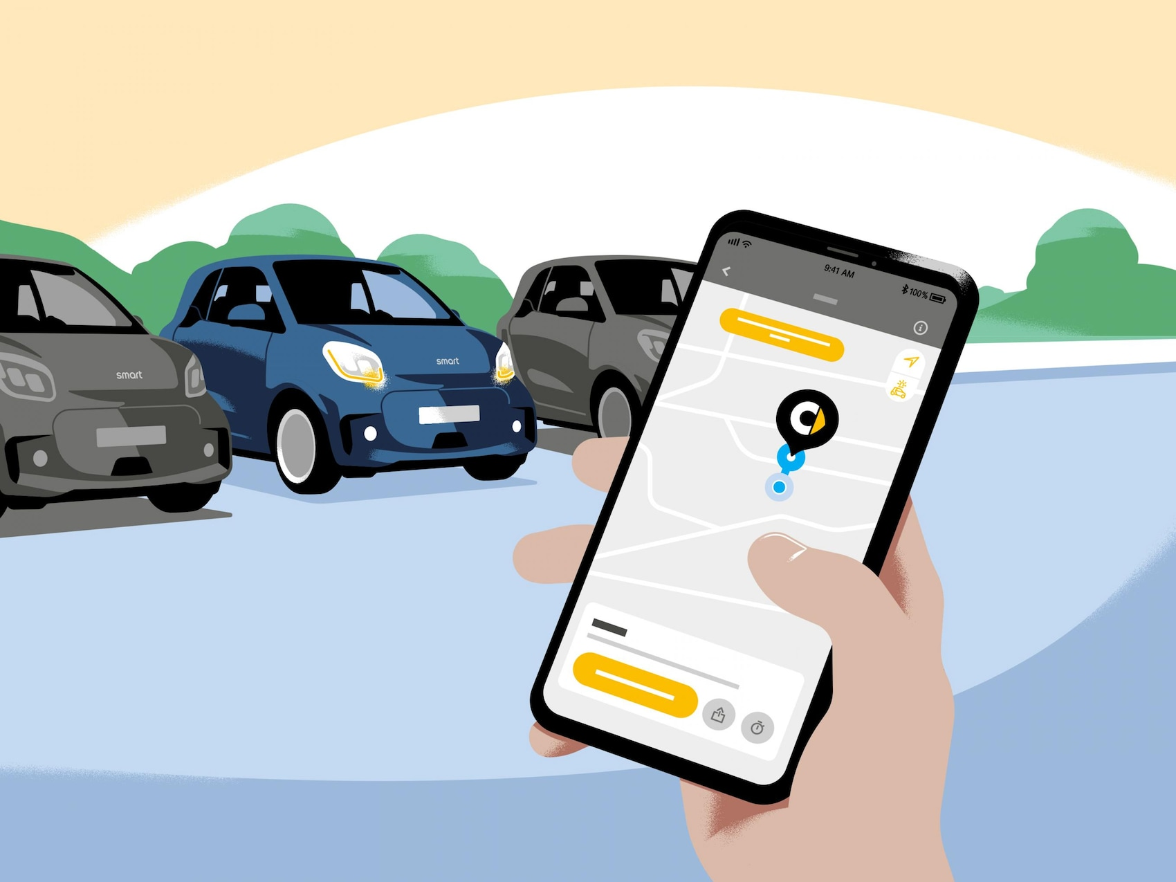App parcheggio smart