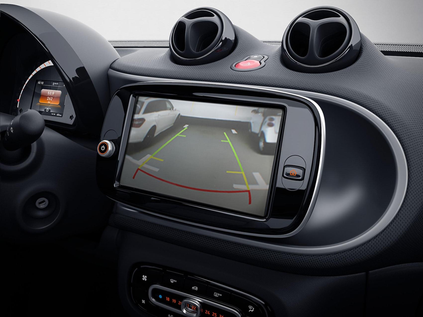 Visione telecamera parcheggio smart EQ fortwo