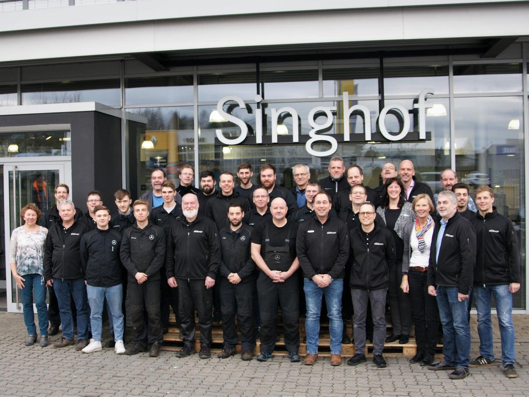 Team, Otto Singhof