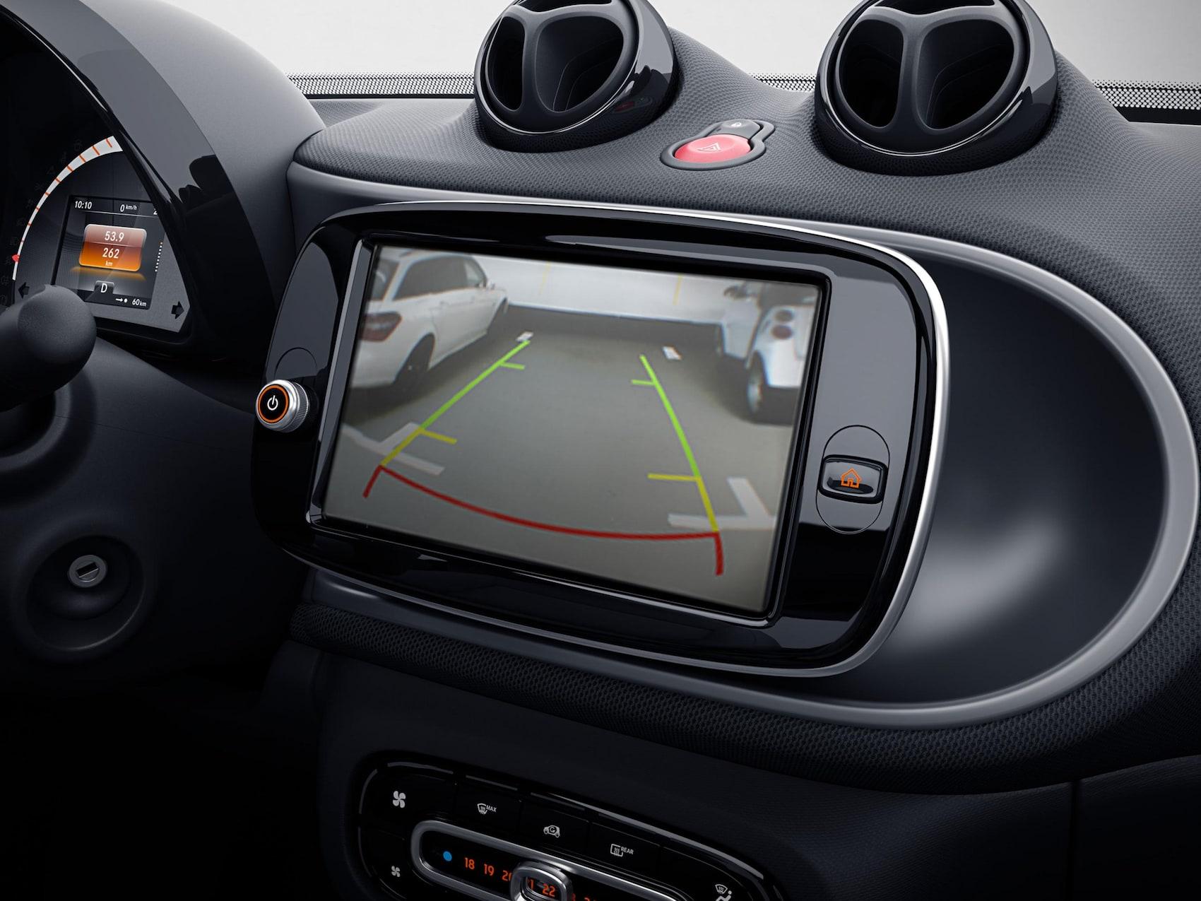 smart EQ forfour racingrey telecamera parcheggio