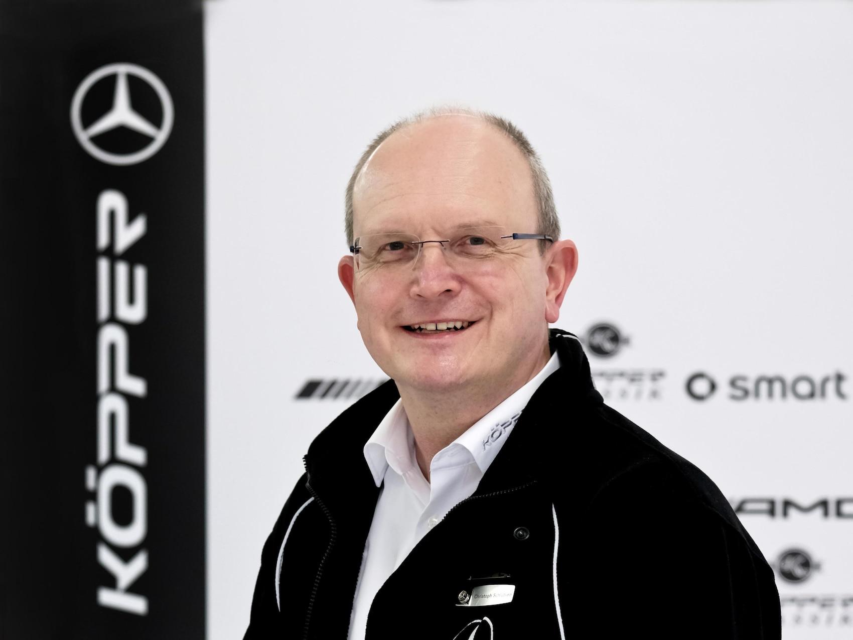 Autohaus Köpper, Christoph Schluetken
