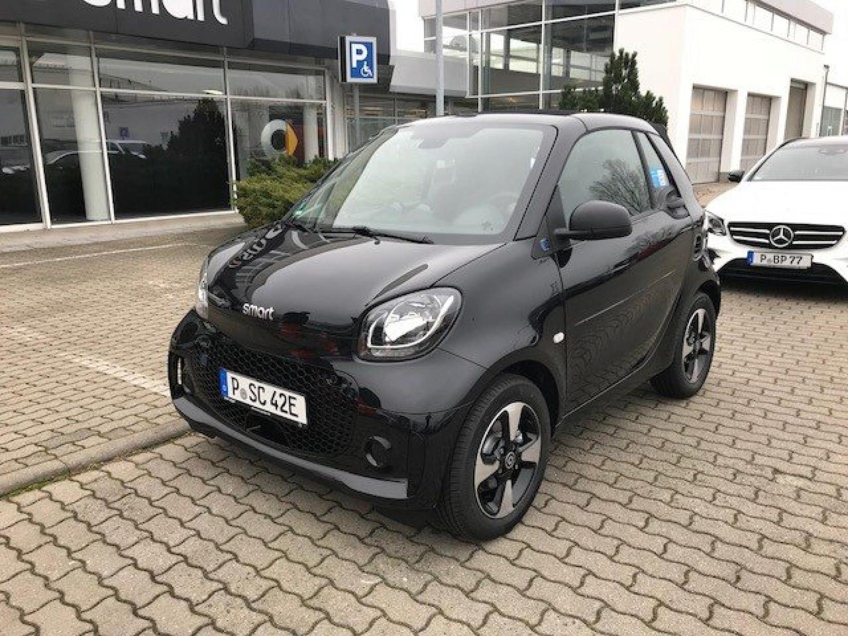 smart Center Potsdam: Angebot - smart EQ fortwo Cabrio