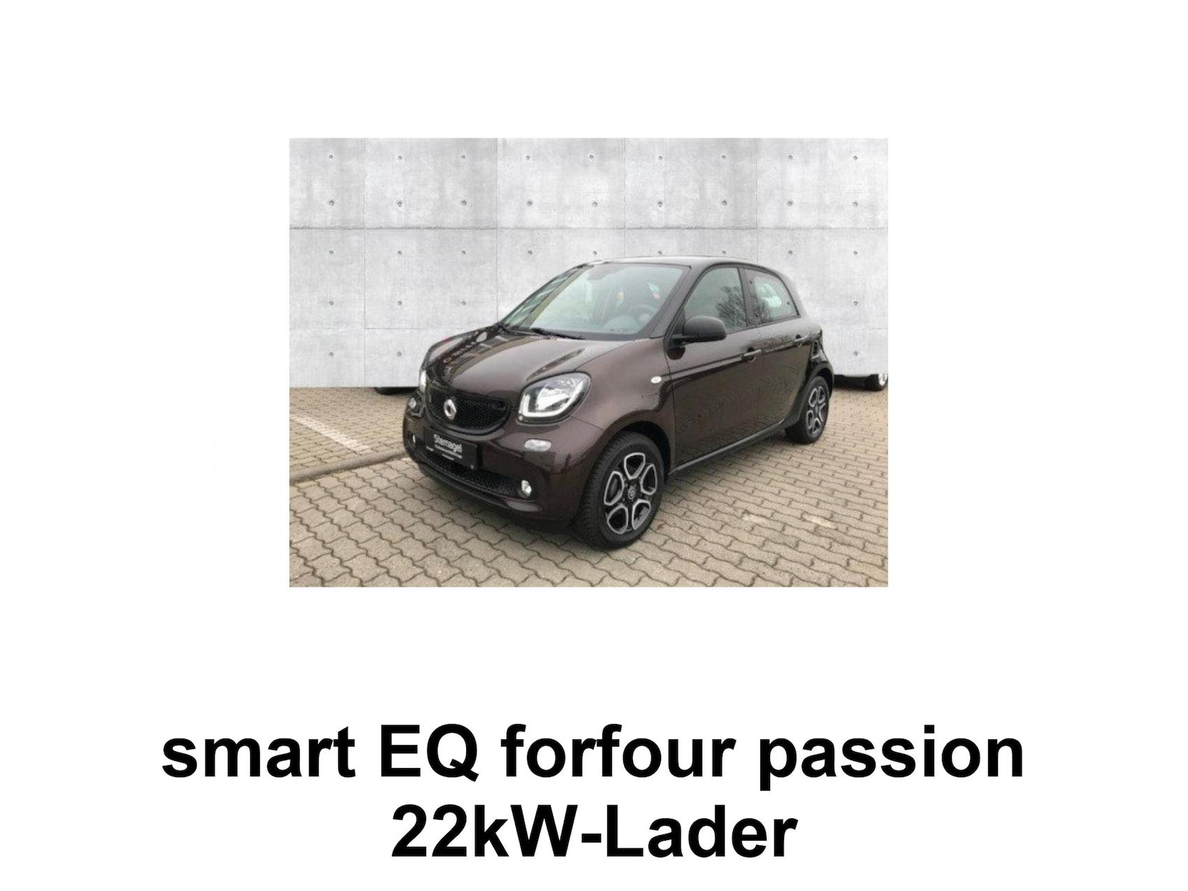 Exposé: smart EQ forfour (S 1930081)